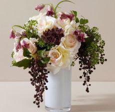 1_32-Lou-de-Castellane-Artificielles-Artificial-Artificiale-Fleurs-Flowers-Fiore-Flor-VASE-BOUQUET-ROND-ramo-FRITTILARIA