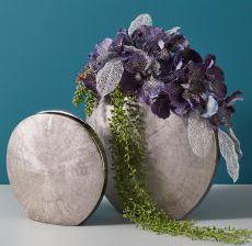 2_12-Lou-de-Castellane-Artificielles-Artificial-Artificiale-Fleurs-Flowers-Fiore-Flor-VASE-ROND-ARGENT