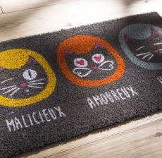 Korb-Modern-design-Tendencia-Tendenza-paillasson-chat-cat-mat-felpudo-gato-zerbino-gatto-fun-gallery