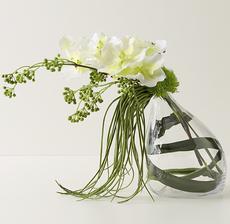 vase penché vanda